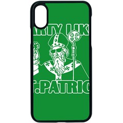 St  Patricks Day  Apple Iphone X Seamless Case (black) by Valentinaart