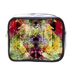 Background Art Abstract Watercolor Mini Toiletries Bags by Nexatart