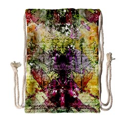Background Art Abstract Watercolor Drawstring Bag (large) by Nexatart
