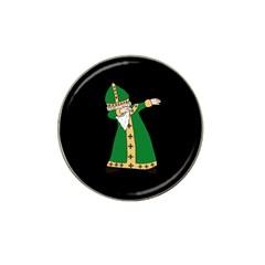 St  Patrick  Dabbing Hat Clip Ball Marker by Valentinaart