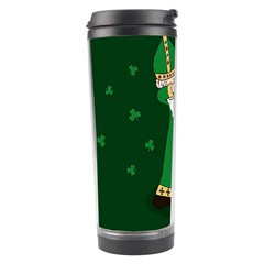 St  Patrick  Dabbing Travel Tumbler by Valentinaart