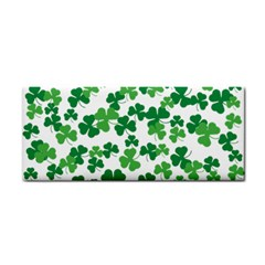 St  Patricks Day Clover Pattern Cosmetic Storage Cases by Valentinaart