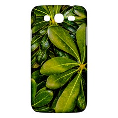 Top View Leaves Samsung Galaxy Mega 5 8 I9152 Hardshell Case  by dflcprints
