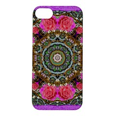 Roses In A Color Cascade Of Freedom And Peace Apple Iphone 5s/ Se Hardshell Case by pepitasart