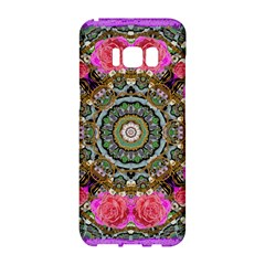 Roses In A Color Cascade Of Freedom And Peace Samsung Galaxy S8 Hardshell Case