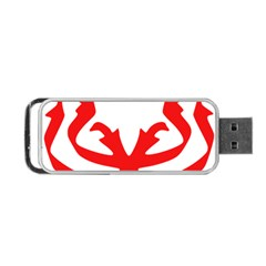 Malaysia Unmo Logo Portable Usb Flash (two Sides) by abbeyz71