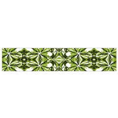 Stylized Nature Print Pattern Small Flano Scarf by dflcprints