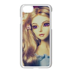 Doll Couple Apple Iphone 7 Seamless Case (white) by snowwhitegirl
