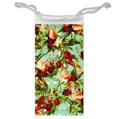 Fruit Blossom Jewelry Bag by snowwhitegirl