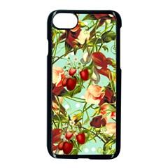 Fruit Blossom Apple Iphone 7 Seamless Case (black) by snowwhitegirl