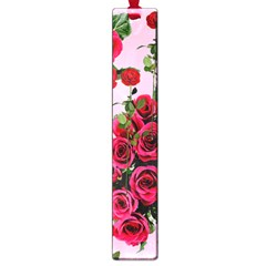 Roses Pink Large Book Marks by snowwhitegirl