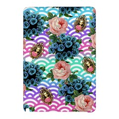 Floral Waves Samsung Galaxy Tab Pro 12 2 Hardshell Case by snowwhitegirl