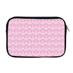 Damask Pink Apple Macbook Pro 17  Zipper Case