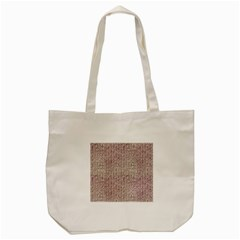 Knitted Wool Pink Light Tote Bag (cream)