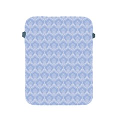 Damask Light Blue Apple Ipad 2/3/4 Protective Soft Cases