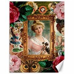 Victorian Collage Of Woman Canvas 12  X 16