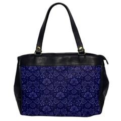 Damask Purple Office Handbags