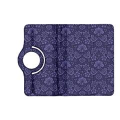Damask Purple Kindle Fire Hd (2013) Flip 360 Case by snowwhitegirl