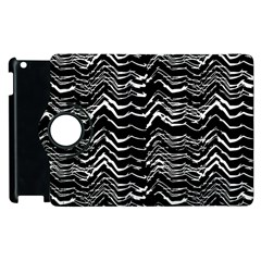 Dark Abstract Pattern Apple Ipad 3/4 Flip 360 Case by dflcprints