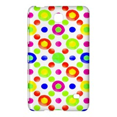 Multicolored Circles Motif Pattern Samsung Galaxy Tab 4 (8 ) Hardshell Case  by dflcprints