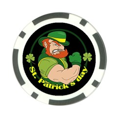 St  Patricks Day Poker Chip Card Guard