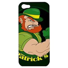 St  Patricks Day Apple Iphone 5 Hardshell Case by Valentinaart