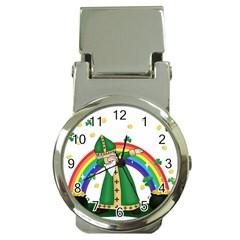 St  Patrick  Dabbing Money Clip Watches by Valentinaart