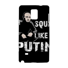 Squat Like Putin Samsung Galaxy Note 4 Hardshell Case by Valentinaart