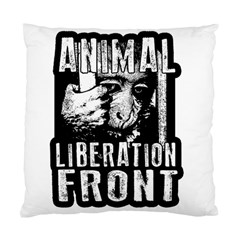 Animal Liberation Front   Chimpanzee  Standard Cushion Case (one Side) by Valentinaart