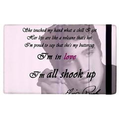 Elvis Presley   All Shook Up Apple Ipad 3/4 Flip Case by Valentinaart