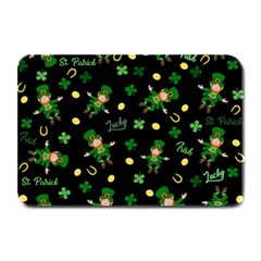 St Patricks Day Pattern Plate Mats by Valentinaart