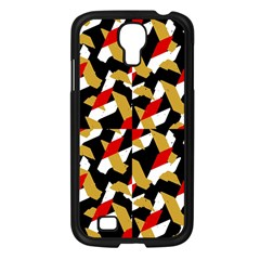 Colorful Abstract Pattern Samsung Galaxy S4 I9500/ I9505 Case (black) by dflcprints
