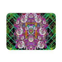 The Most Beautiful Planet Is Earth On The Sky Double Sided Flano Blanket (mini)  by pepitasart