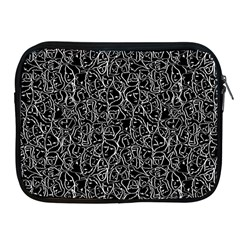 Elio s Shirt Faces In White Outlines On Black Crying Scene Apple Ipad 2/3/4 Zipper Cases by PodArtist