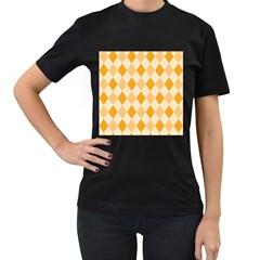 Argyle 909253 960 720 Women s T Shirt (black) by vintage2030
