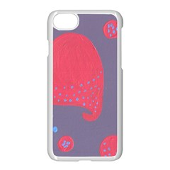 Lollipop Attacked By Hearts Apple Iphone 7 Seamless Case (white) by snowwhitegirl