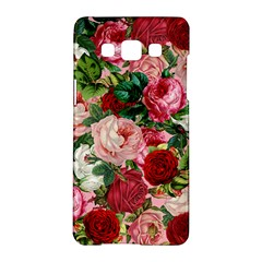 Rose Bushes Samsung Galaxy A5 Hardshell Case  by snowwhitegirl