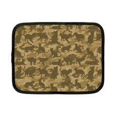 Operation Desert Cat Camouflage Catmouflage Netbook Case (small)