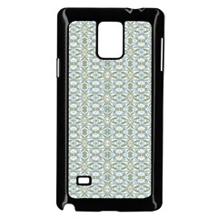 Vintage Ornate Pattern Samsung Galaxy Note 4 Case (black) by dflcprints