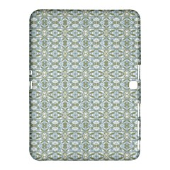 Vintage Ornate Pattern Samsung Galaxy Tab 4 (10 1 ) Hardshell Case  by dflcprints