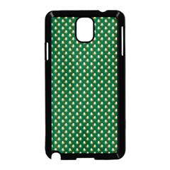 Irish Flag Green White Orange On Green St  Patrick s Day Ireland Samsung Galaxy Note 3 Neo Hardshell Case (black) by PodArtist