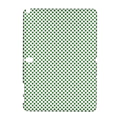 Shamrock 2 Tone Green On White St Patrick?¯s Day Clover Galaxy Note 1 by PodArtist