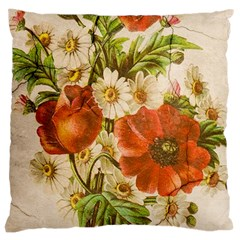 Poppy 2507631 960 720 Large Cushion Case (two Sides) by vintage2030