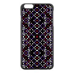 Futuristic Geometric Pattern Apple Iphone 6 Plus/6s Plus Black Enamel Case by dflcprints