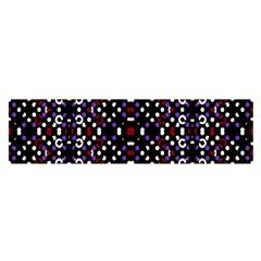 Futuristic Geometric Pattern Satin Scarf (oblong) by dflcprints