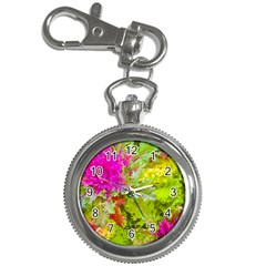 Colored Plants Photo Key Chain Watches by dflcprints