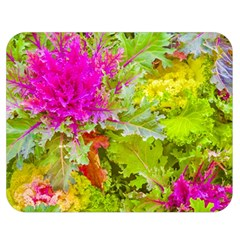 Colored Plants Photo Double Sided Flano Blanket (medium)  by dflcprints