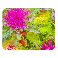 Colored Plants Photo Double Sided Flano Blanket (large)  by dflcprints