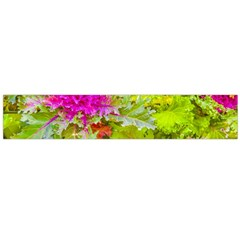 Colored Plants Photo Large Flano Scarf  by dflcprints