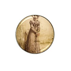 Lady 2507645 960 720 Hat Clip Ball Marker by vintage2030